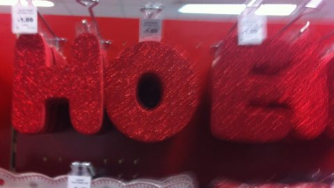 I may have got a little bit bored in the Christmas section at Hobbycraft