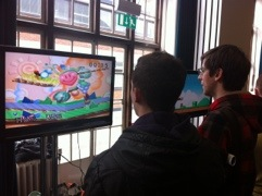 Smash Brothers on an classic pikachu N64 - Brilliant