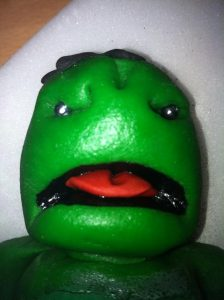Jo is far to talented for her own good, I mean look at this sackboy hulk cake topper!