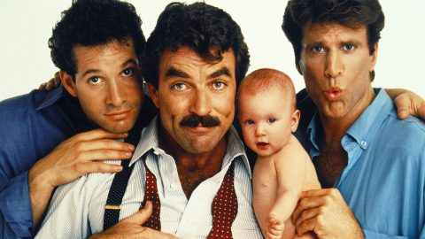 Well clearly the facial hair makes me Selleck, with Noah as a baby. But not sure which way round to place the other two