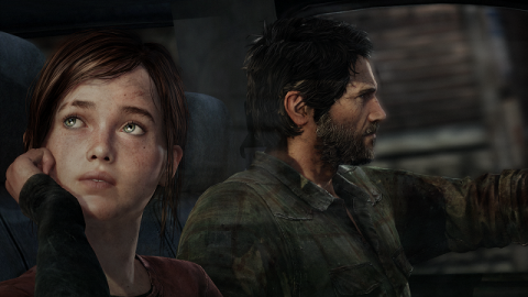 It would appear Ellie is not as impressed as Joel