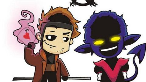 NightCrawler & Gambit, certainly the best choice as X-Men