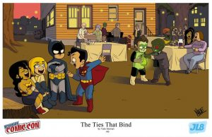 The JL8 Comics are awesome, find them on facebook