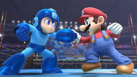 Even MegaMan knows the secret Wii U handshake