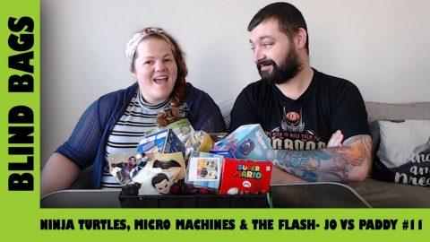 Mystery Blind Bags #11 - Ninja Turtle Oohsies & Star Wars Micro Machines  | Adults Like Toys Too