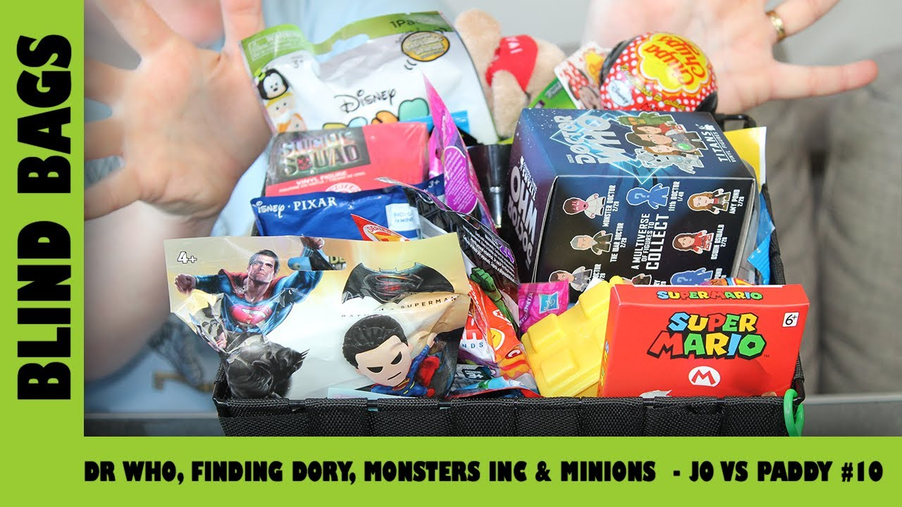 Mystery Blind Bags #10 - Dr Who, Finding Dory, Monsters Inc & Minions | Adults Like Toys Too