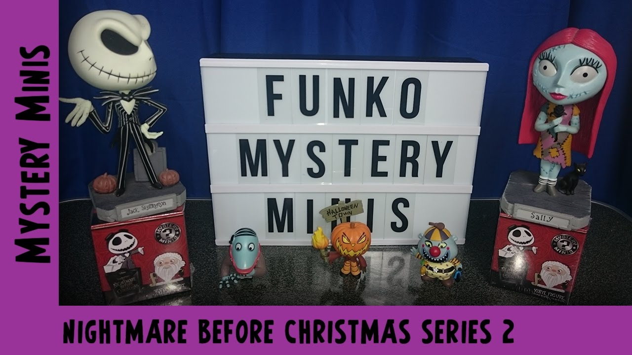 Nightmare Before Christmas Series 2 Funko Mystery Mini Unboxing #2 | Adults Like Toys Too