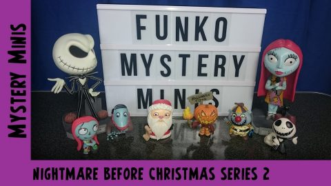 Nightmare Before Christmas Series 2 Funko Mystery Mini Unboxing #3 | Adults Like Toys Too