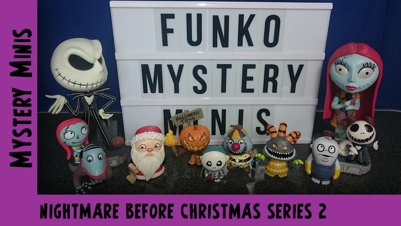 Nightmare Before Christmas Series 2 Funko Mystery Mini Unboxing #4 | Adults Like Toys Too
