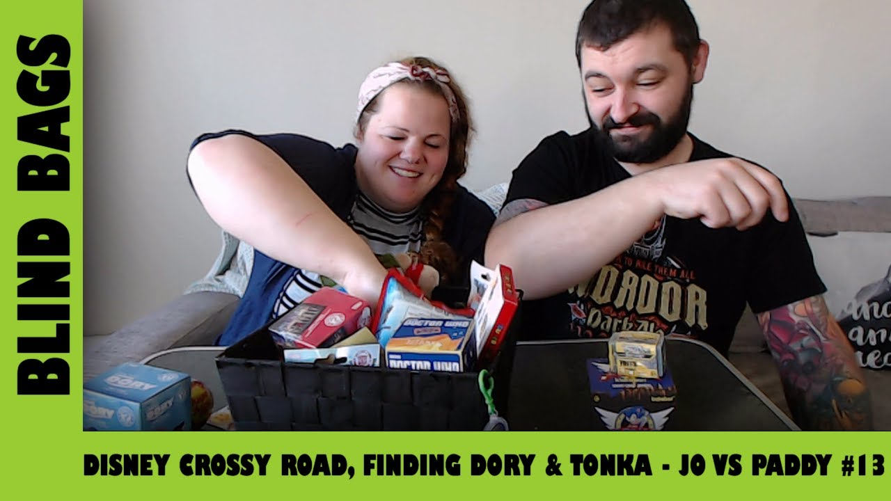 Mystery Blind Bags #13 - Disney Crossy Road, Finding Dory & Tonka Toys 🚚 | Adults Like Toys Too