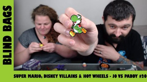 SUper Mario, Disney Villains & Hot Wheels - Mystery Blind Bags #20 | Adults Like Toys Too