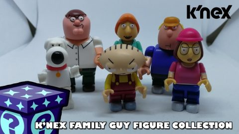 K'nex Family Guy Collection Series 1 Blind Bag Opening | Adults Like Toys Too