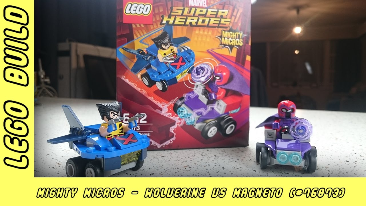 Wolverine vs Magneto Super Heroes Mighty Micros | Lego Build | Adults Like Toys Too