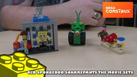 Mega Bloks: The Spongebob Movie Sets | Mega Bloks Build | Adults Like Toys Too