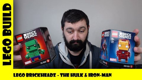 Lego Brickheadz -The Hulk & Iron Man (Sets #41592 & #41590)  | Lego Build | Adults Like Toys Too