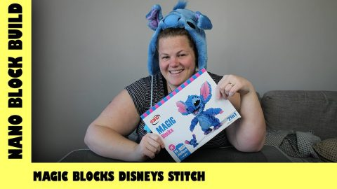 BootLego: Magic Blocks Disney's Stitch Build | Nano-Brick Build | Adults Like Toys Too