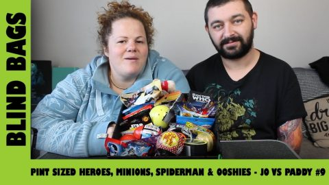Mystery Blind Bags #9 - Pint Sized Heroes, Minions, Spiderman & Ooshies | Adults Like Toys Too