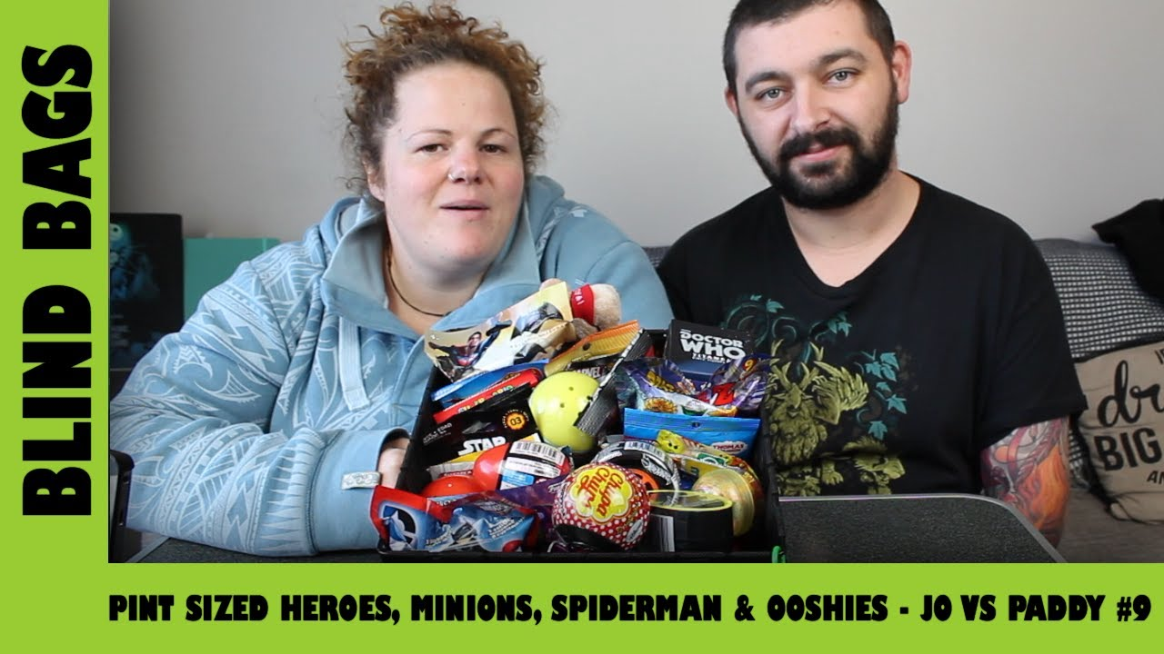Mystery Blind Bags #9 - Pint Sized Heroes, Minions, Spiderman & Ooshies   Adults Like Toys Too