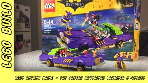 The Lego Batman Movie - The Joker Notorious Low-rider | Lego Build | Adults Like Toys Too
