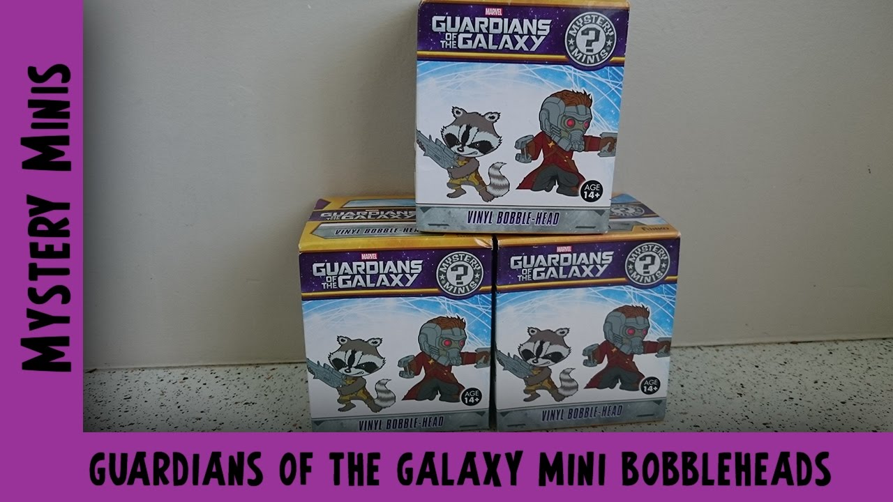 Guardians of the Galaxy Funko Mystery Mini Unboxing | Adults Like Toys Too