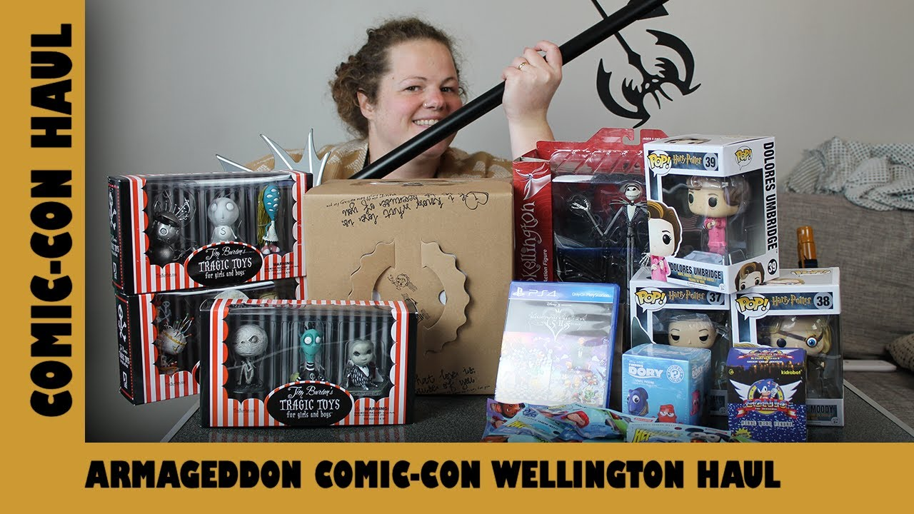 Armageddon Comic-Con Wellington Toy Haul | Adults Like Toys Too Haul
