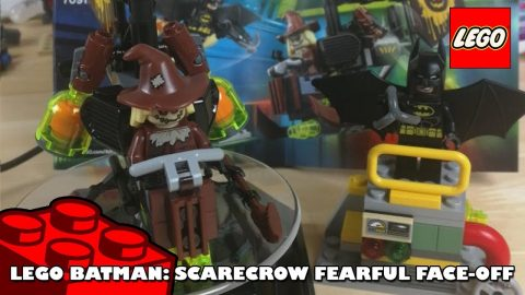 Lego Batman Movie - Scarecrow Fearful Face-Off | Lego Build | Adults Like Toys Too
