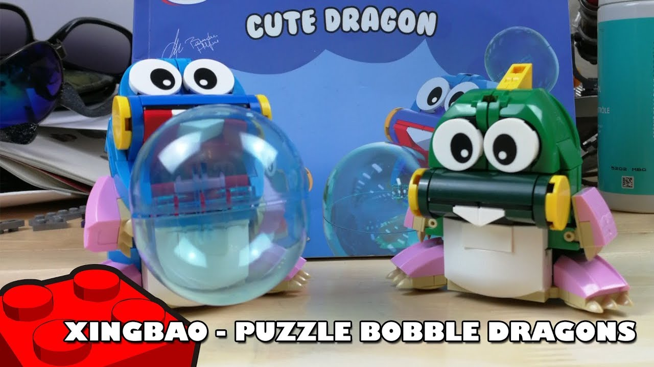Bootlego: Xingbao Cute Dragon (Bubble Bobble) Build | Xingbao Build | Adults Like Toys Too