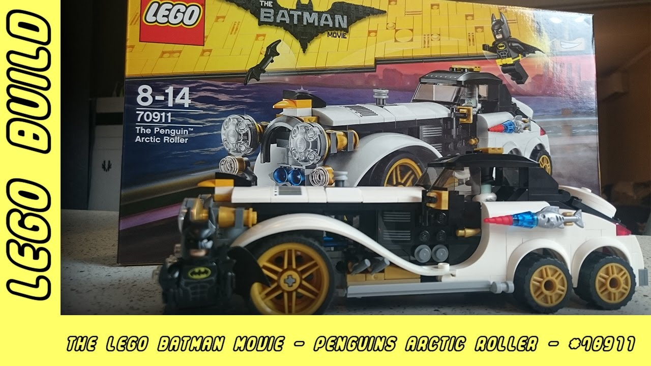 The Lego Batman Movie - The Penguin Arctic Roller   Lego Build   Adults Like Toys Too