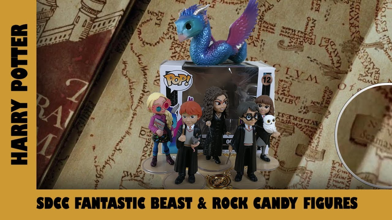 SDCC Fantastic Beasts Funko Pops & Harry Potter Rock Candy Figures | Adults Like Toys Too