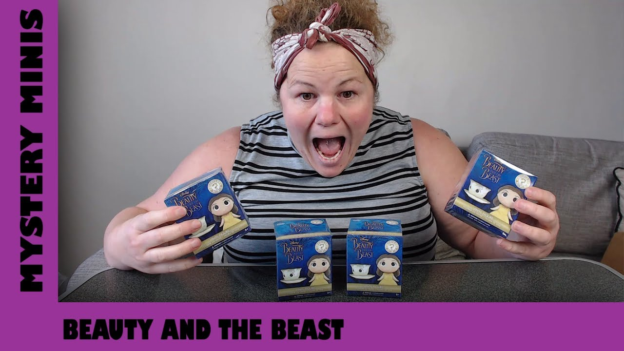 Beauty and the Beast Funko Mystery Mini Unboxing   Adults Like Toys Too