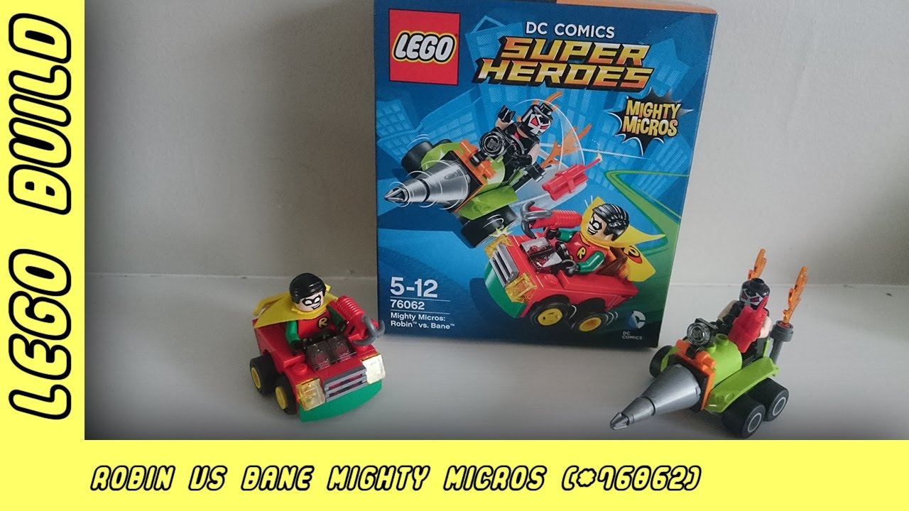 Robin Vs Bane Super Heroes Mighty Micros | Lego Build | Adults Like Toys Too