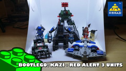 BootLego: Kazi - Red Alert 3 Units | Adults Like Toys Too