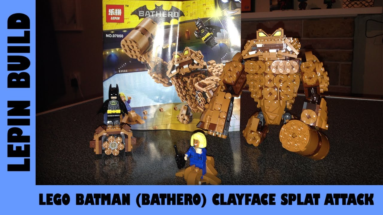 BootLego: Lepin Bathero Clayface Splat | Lepin Build | Adults Like Toys Too