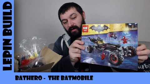 BootLego: Lepin Bathero The Batmobile  | Lepin Build | Adults Like Toys Too