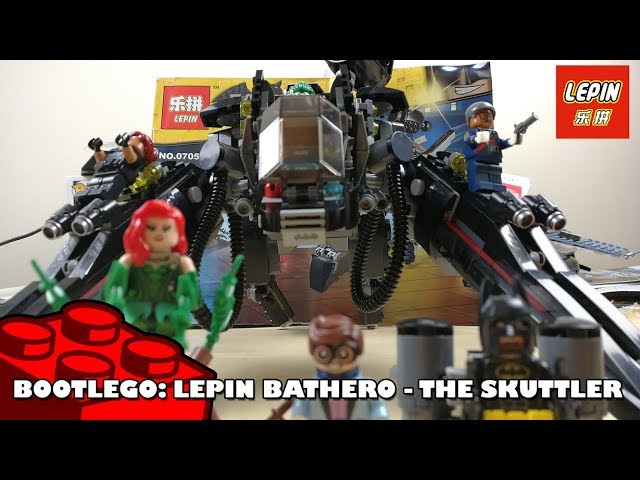 Bootlego: Lepin Bathero - The Scuttler | Lepin Build | Adults Like Toys Too