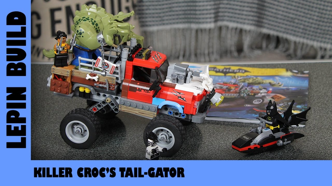 BootLego: Lepin Killer Croc Tail-Gator | Lepin Build | Adults Like Toys Too