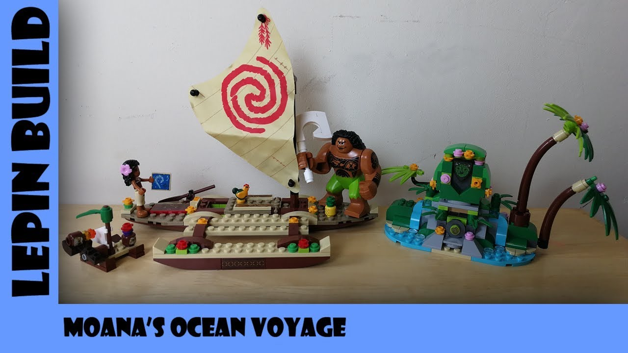 BootLego: Lepin Moana's Ocean Voyage | Lepin Build | Adults Like Toys Too