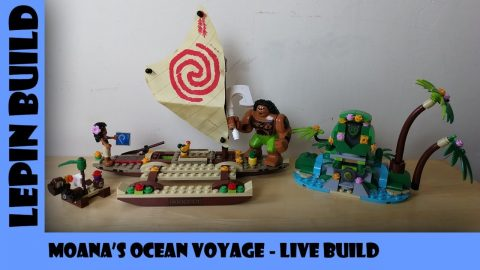 Bootlego: Lepin Moana's Ocean Voyage - Live Build