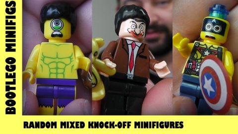 Bootlego: Random Mixed Knock-Off Minifigures | Adults Like Toys Too