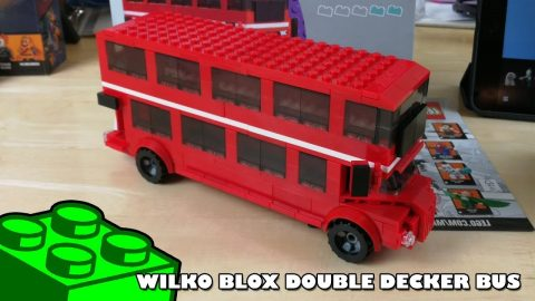 Bootlego: Wilko Blox Double Decker Bus | Adults Like Toys Too