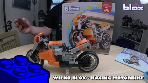 Bootlego: Wilko Blox Racing Motorbike | Adults Like Toys Too