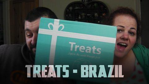 Brazilian Treats Box Tasting | Vlog