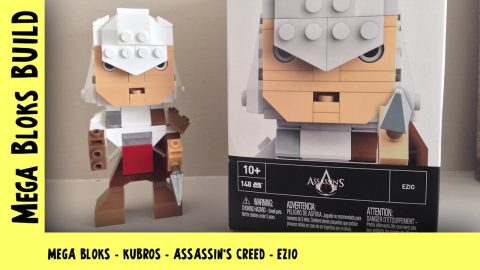Mega Bloks Kubros: Wave 1: Assassin's Creed - Ezio | Mega Bloks Build | Adults Like Toys Too