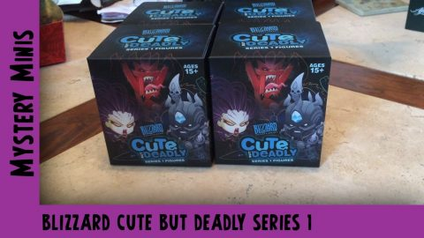 Blizzard Cute but Deadly Mystery Series 1 Vinyl Unboxing | Adults Like Toys Too
