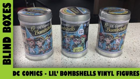 DC Comics Lil' Bombshells Vinyl Figure Opening| Adults Like Toys Too