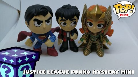 DC's Justice League Funko Mystery Minis | Adults Like Toys Too