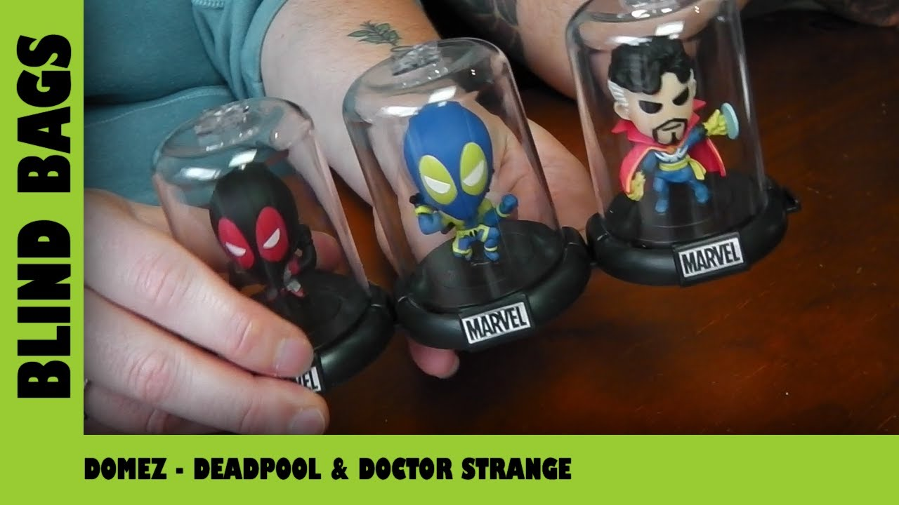 Deadpool & Dr Strange Domez | Adults Like Toys Too