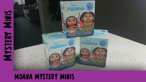 Disney Moana Funko Mystery Mini Unboxing | Adults Like Toys Too