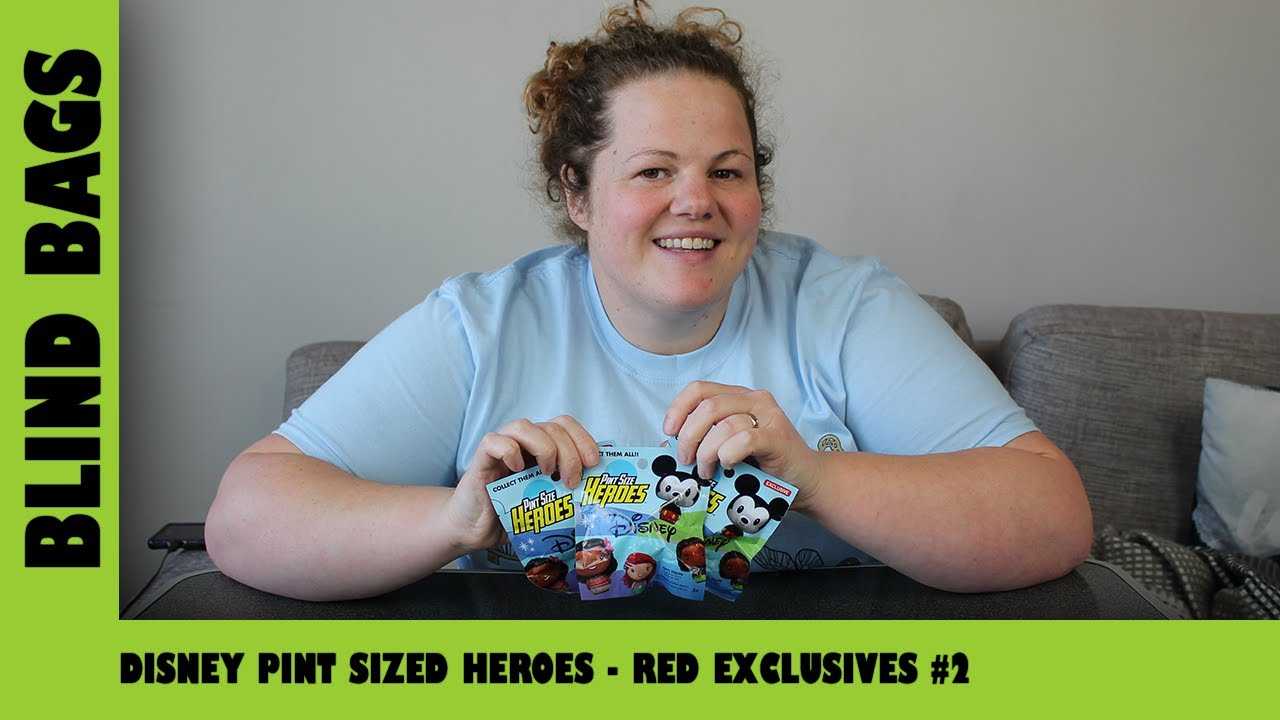 Disney Pint Sized Heroes - Red Exclusives #2 | Adults Like Toys Too