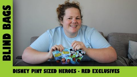 Disney Pint Sized Heroes - Red Exclusives | Adults Like Toys Too